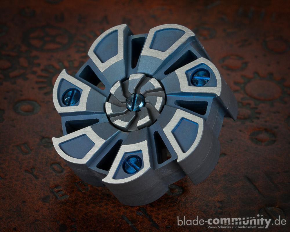 Titanium Turbine Hand Spinner Version 2
