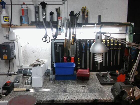 Bilder aus der Werkstatt