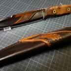 Egons Jagd-Outdoormesser - Das Vierte mit Lederscheide