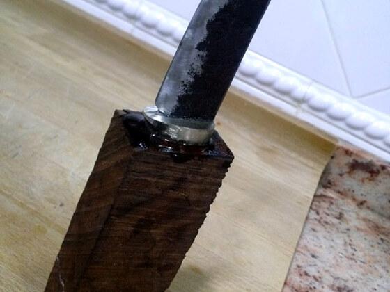 Kutschbock Feder Messer