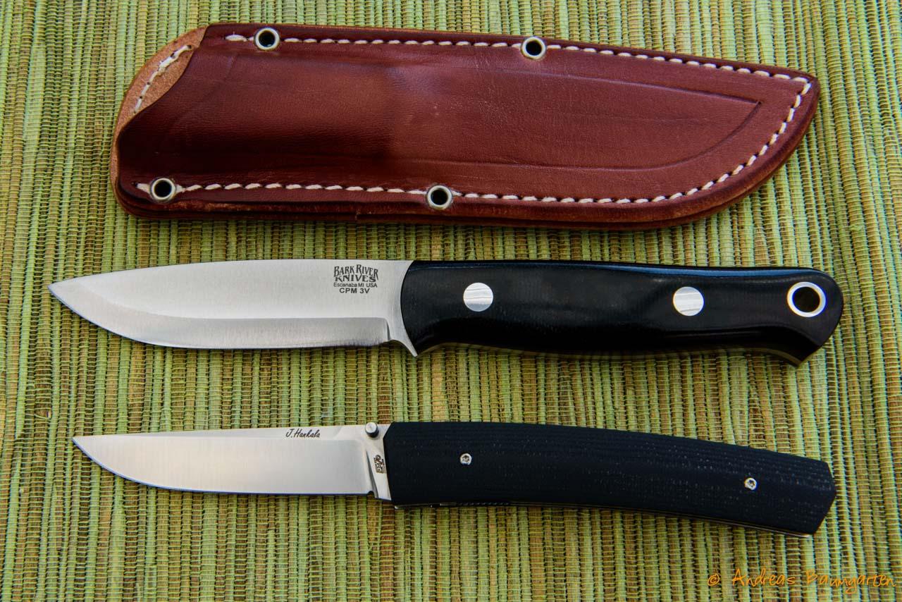 Bark River Knives Bushcrafter und EnZo Piili 85 - Galerie