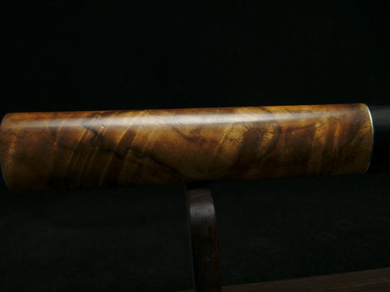 Gyuto aus 1.2510 und gemasertem Nussbaum