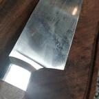 Kochmesser - nicht rostfrei, Bruyere, erste Benutzung