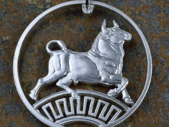 Stier von Kreta in Silber